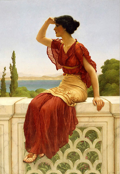 File:John William Godward - The Signal.jpg