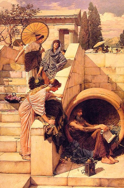 John William Waterhouse Diogenes