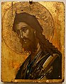 John the Baptist, Crete, Late Byzantine, 1600s, tempera and gold leaf on wood panel - Princeton University Art Museum - DSC06706.jpg