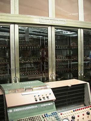 JOHNNIAC - Johnniac computer, Computer History Museum, California