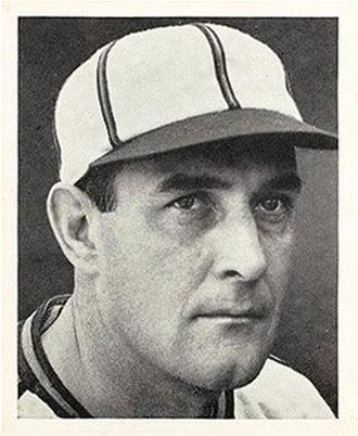 Johnny Allen (baseball) - Image: Johnny Allen Browns