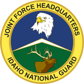 Idaho Air National Guard - Image: Joint Force Headquarters Idaho National Guard emblem