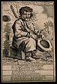 Jordan, a character, begging. Engraving by P. van Buysen. Wellcome V0007489EL.jpg