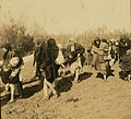 Jordanian Christian women visiting Al-Maghtas, Jordan River, 1913 (cropped).jpg