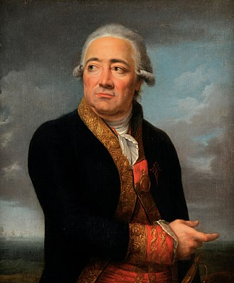 Assault on Cádiz - Spanish Admiral José de Mazarredo by Jean François-Marie Bellier.