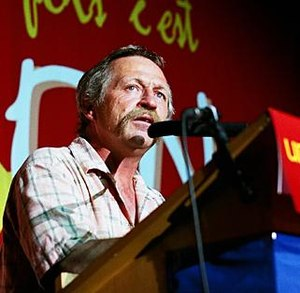 José Bové - José Bové (Paris, May 2005)
