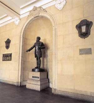 José Bonifácio the Younger - A statue of José Bonifácio the Younger at the Faculdade de Direito da Universidade de São Paulo