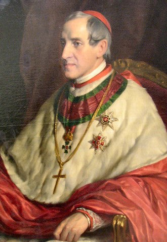 Archbishop of Vienna - Joseph Othmar Cardinal Ritter von Rauscher, Archbishop of Vienna 1853-1875 (Prince-Archbishop of Vienna from 1861).