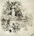 Joseph Pennell, Luxembourg gardens, 1893.jpg
