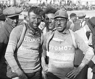 Automoto (cycling team) - Joseph Van Dam and Omer Huyse at the 1926 Tour de France