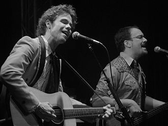 Josh Ritter - Ritter, left, in concert with longtime bassist Zack Hickman