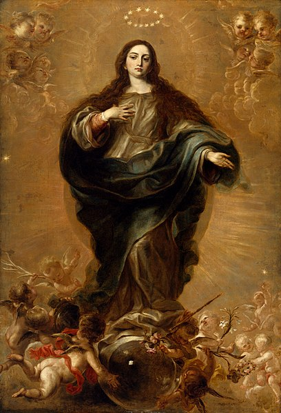 File:Juan Carreño de Miranda , and workshop - The Immaculate Conception - 94.824 - Museum of Fine Arts.jpg