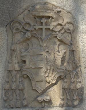 Juan Pardo de Tavera - Coat of arms of archbishop.