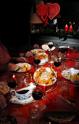 Christmas dinner - Danish Christmas dinner