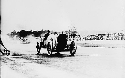Peugeot wins the 1913 Indianapolis 500 Jules Goux wins Indianapolis.jpg