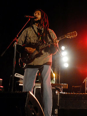 The Miseducation of Lauryn Hill - Julian Marley (pictured in 2010) was one of several members from Bob Marley's family who visited the album's recording sessions in Jamaica.