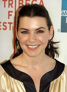 Julianna Margulies na premiéře filmu City Islands