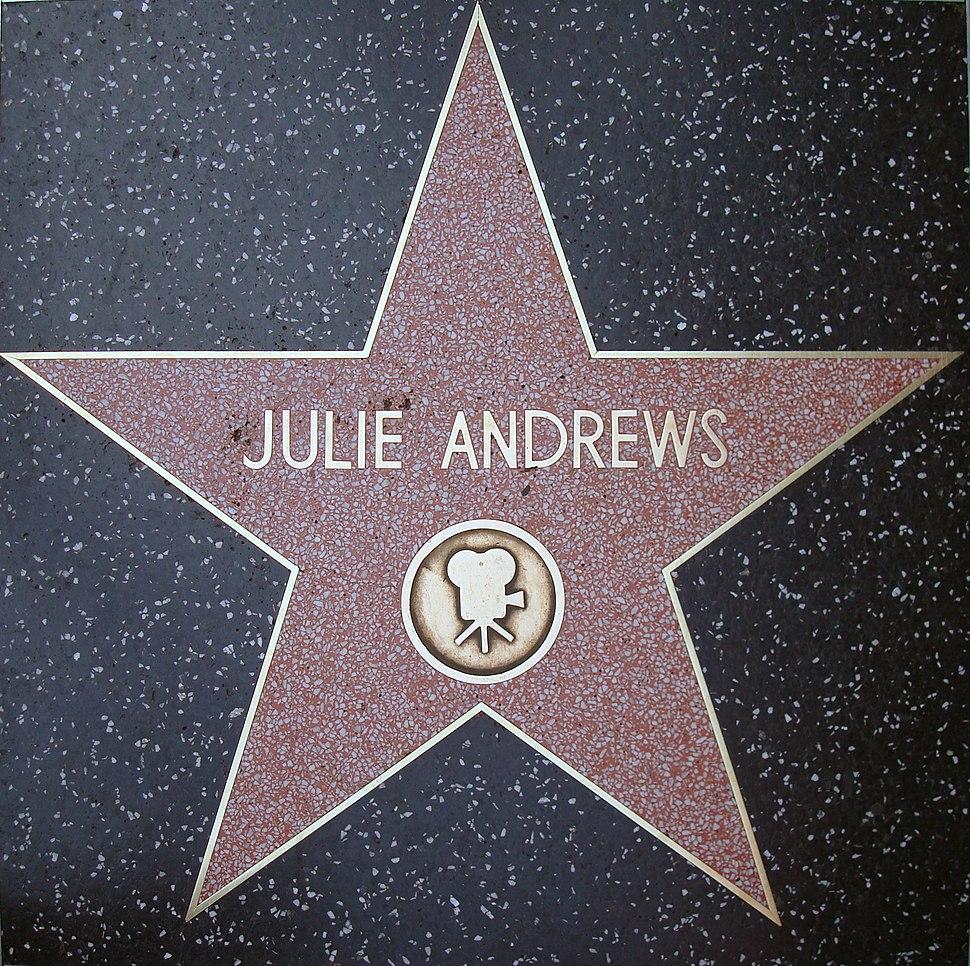 Julie Andrews HWoF Star