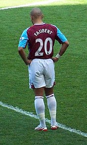 Faubert Playing For West Ham United Pictured On