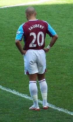 Faubert a West Ham mezében