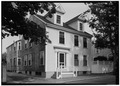 July, 1970 WEST ELEVATION - Andrew Myrick House, 16 Orange Street, Nantucket, Nantucket County, MA HABS MASS,10-NANT,76M-1.tif