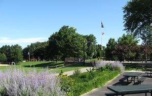 Juniper Valley Park - Juniper Valley Park, near Juniper Boulevard South, in Middle Village