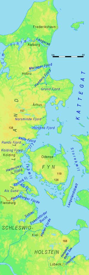 Förden and East Jutland Fjorde - Fjorde of East Jutland and Förden of Schleswig-Holstein