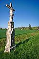 Kříž u silnice do Vrchovslavic, Mořice, okres Prostějov.jpg