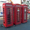 K6 Telephone Kiosks at Holy Trinity Church, Trinity Trees, Eastbourne (NHLE Code 1043620) (October 2012).jpg