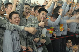 Korean Augmentation To the United States Army - KATUSA U.S. Friendship Week, Camp Humphreys, South Korea