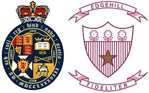 King's-Edgehill School - Image: KES Crests