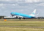 KLM Royal Dutch Airlines, Boeing 737-8BK, PH-BXU (20321124335).jpg