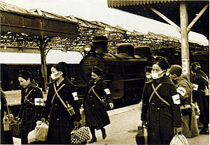 JNR Class C51 - Central China Railway C51 116 at Suzhou Station, 30 January 1939