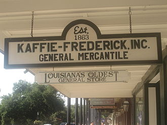 Natchitoches, Louisiana - Kaffie-Frederick, Inc., is the oldest general store in Louisiana