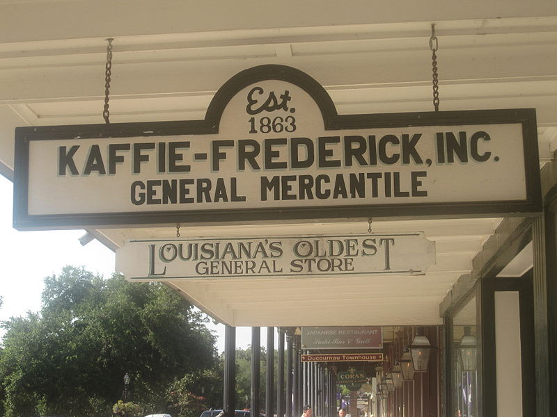 File:Kaffie-Frederick, Inc., General Mercantile, Natchitoches, LA IMG 1931.JPG