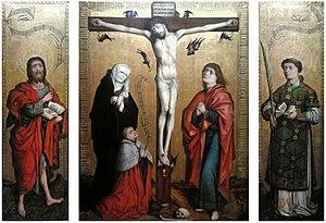 Crucifixion Triptych of the canon Peter von Wartenberg