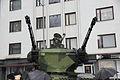 Kalustoesittely itsenäisyyspäivä 2015 20 Leopard 2 Marksman turret.JPG