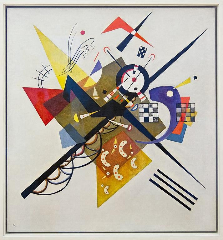weiss auf weiss, file:kandinsky - auf weiss ii - wikimedia commons, Innenarchitektur