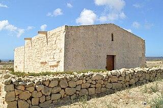 Santa Cecilia Chapel Church in Għajnsielem, Malta