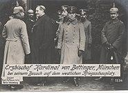 Kardinal Bettinger Krieg 1916JS