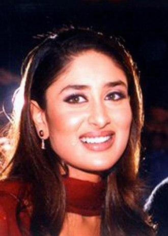 Kareena Kapoor - Kapoor at the book launch of Kabhi Khushi Kabhie Gham... in 2001. Bollywood Hungama reported that the success of the film proved a breakthrough for her.