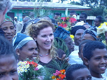 English: Karita Bekkemellem in Ethiopia to lea...