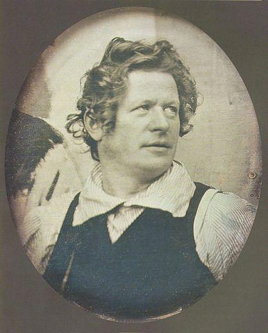 Карл Брюллов. Дагерротипное изображение из собрания Эрмитажа