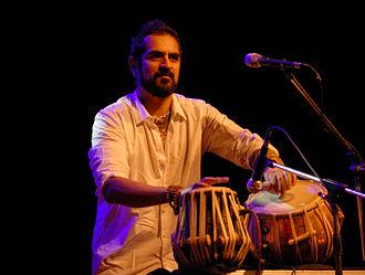 Karsh Kale - Karsh Kale performing in Bangalore in January 2009