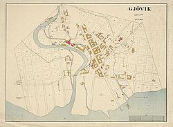 kart gjøvik sentrum Gjøvik – Wikipedia kart gjøvik sentrum