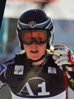 Kaylin Richardson American alpine skier