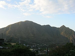 Chilung Volcano Group - Image: Keelung Mountain 0001