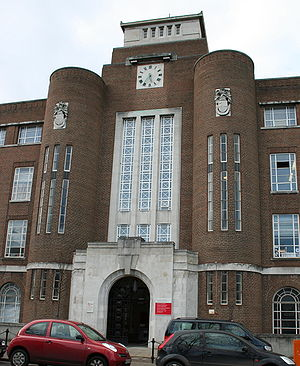 Stranmillis - Entrance to David Keir Building