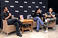 Kevin Vidal, Scaachi Koul and Jonny Sun at Indigo Chapters - 2017 - IMG 2947.jpg