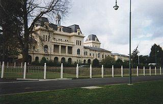 Kew Asylum Hospital in Victoria, Australia